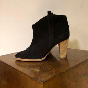 Isabel Marant black Suede boots 37.5